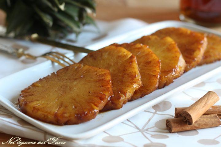 Ananas caramellato