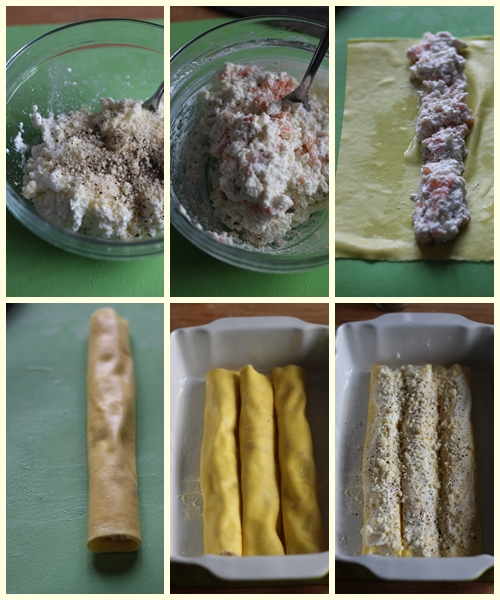 fare i cannelloni con la pasta delle lasagne