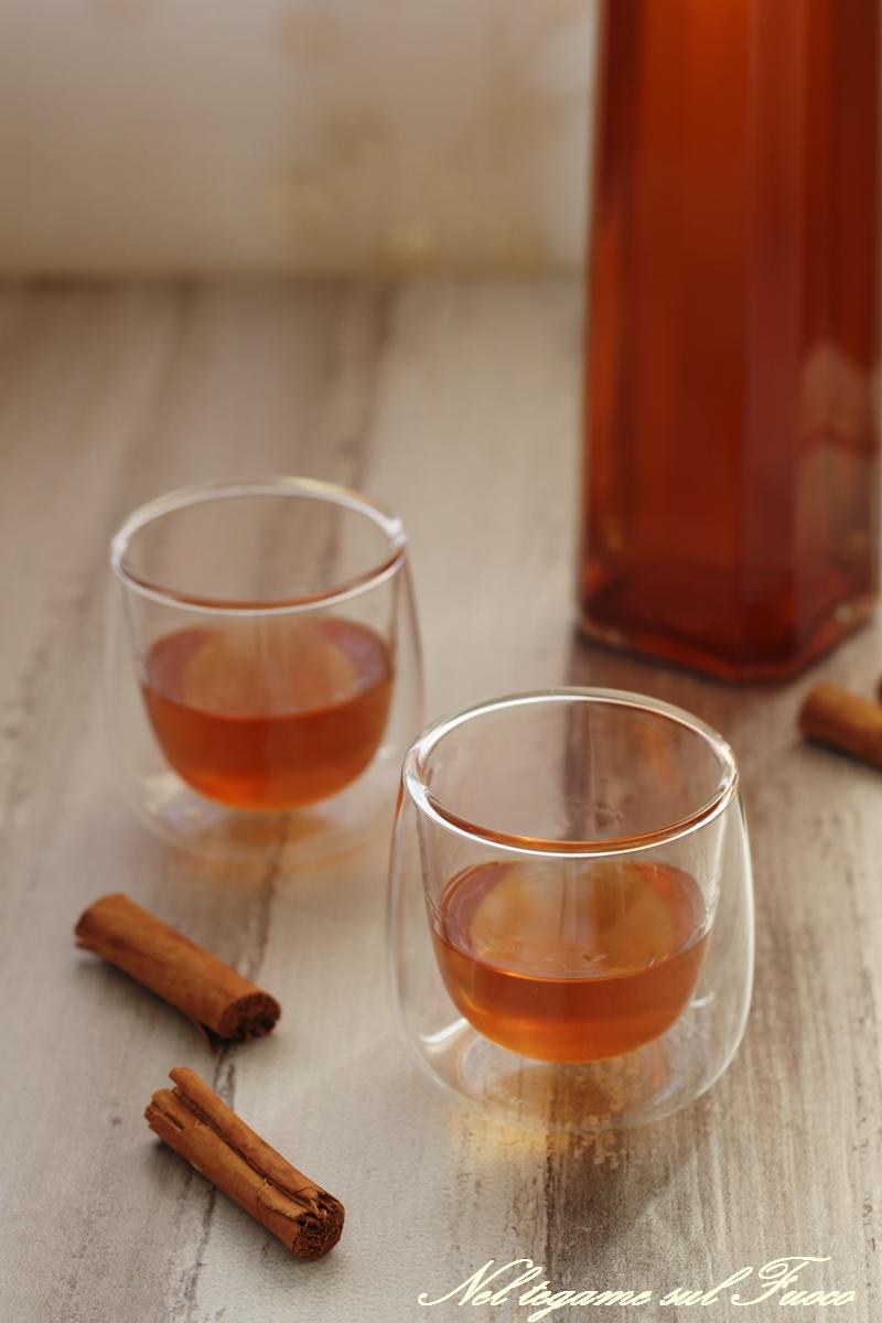 come fare il liquore alla cannella in casa
