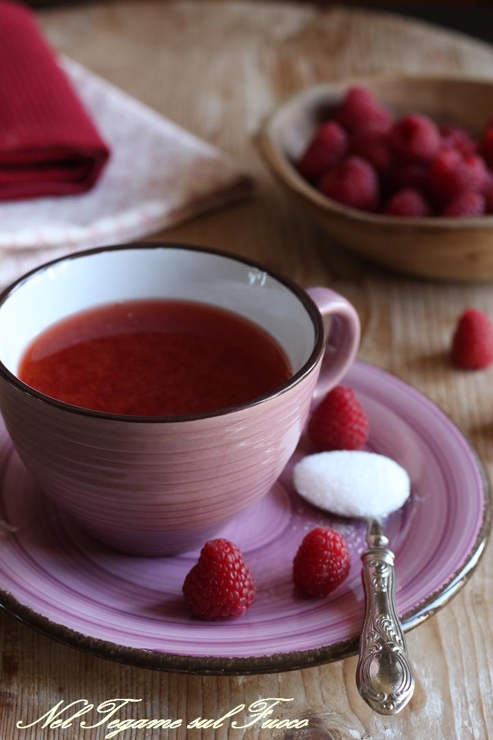 come aromatizzare il te con la frutta