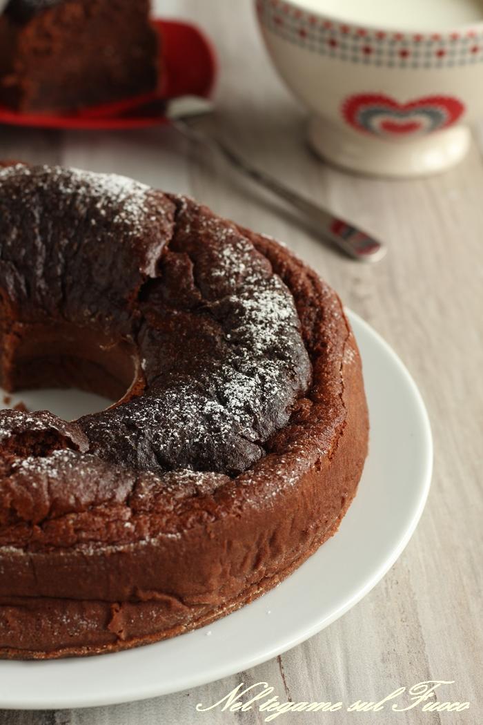 torta al latte e cacao
