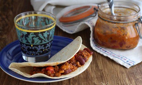 Ripieno per burritos in vasocottura