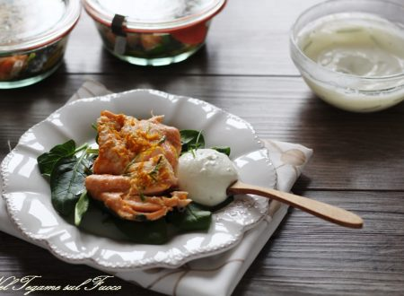 Ricetta salmone in vasocottura