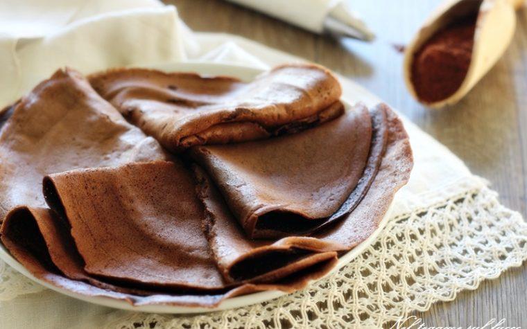 Crepes al cioccolato