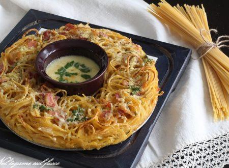 Frittata di pasta al forno