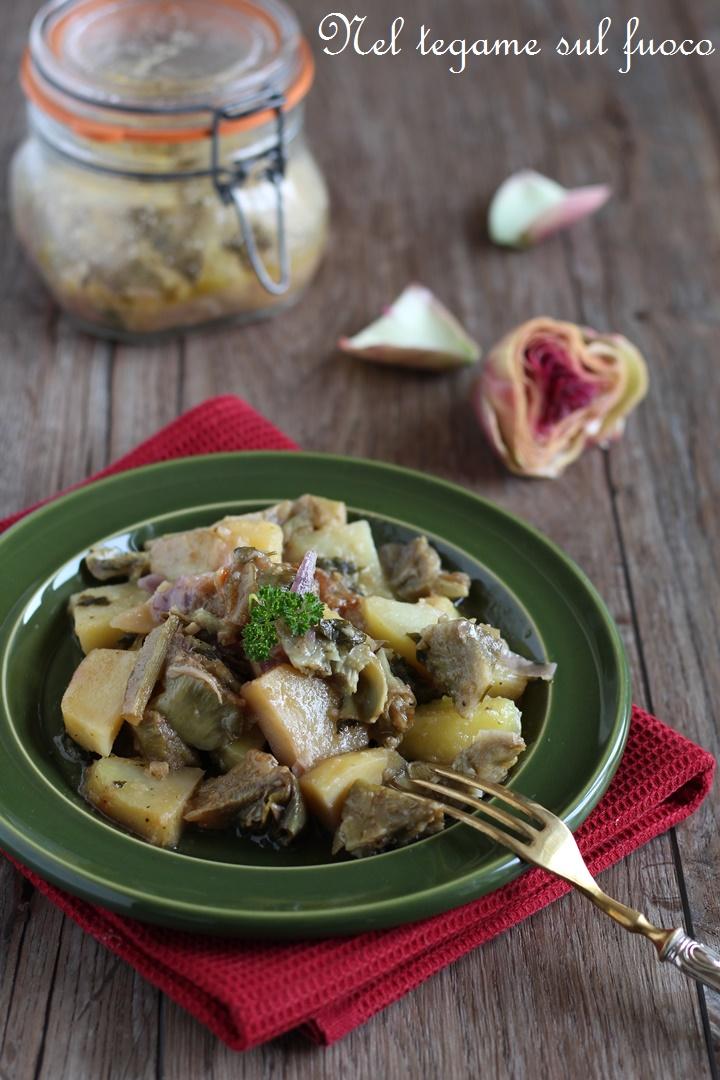 carciofi+patate+vasocottura