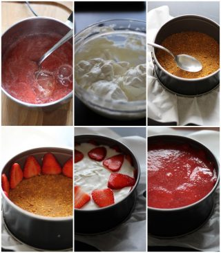 cheesecake senza zucchero alla frutta