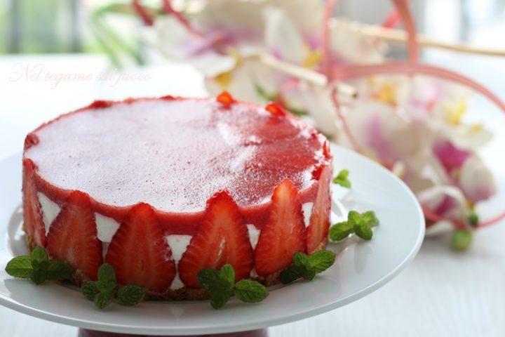cheesecake proteica senza zucchero