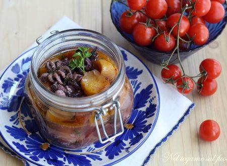 Moscardini in vasocottura con patate e aromi