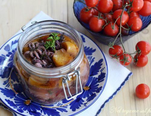 Moscardini in vasocottura con patate