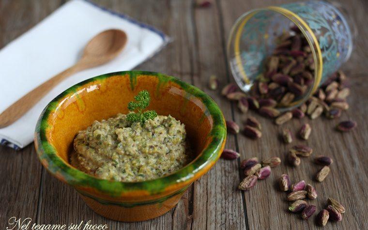 Pesto di pistacchi e tonno