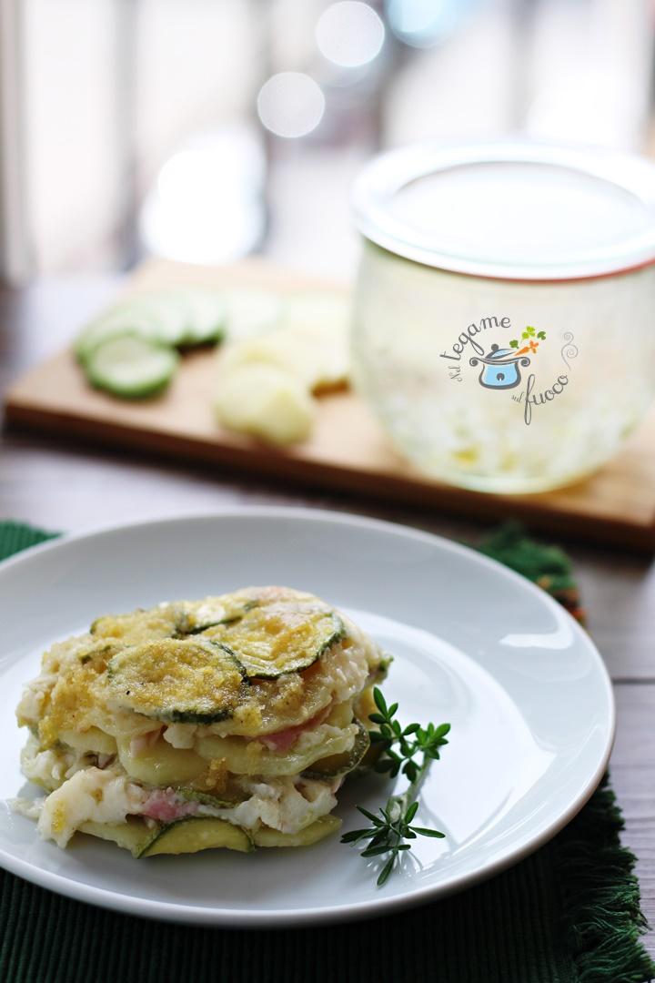 tortino+patate+zucchine