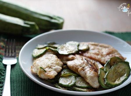 Pollo alle zucchine