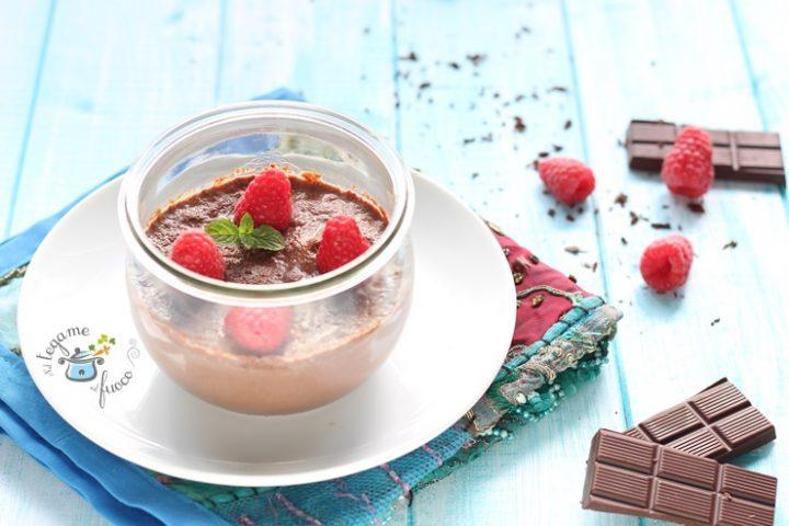 Crema al cioccolato in vasocottura