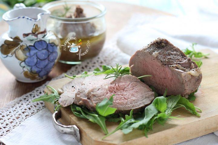 Arrosto di carne in vasocottura