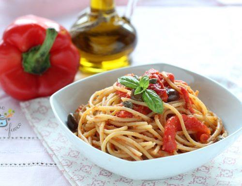 Spaghetti ai peperoni