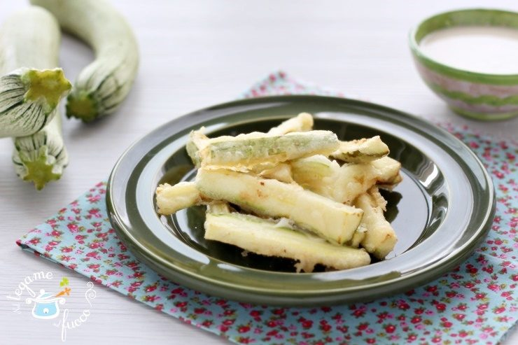 Zucchine in pastella