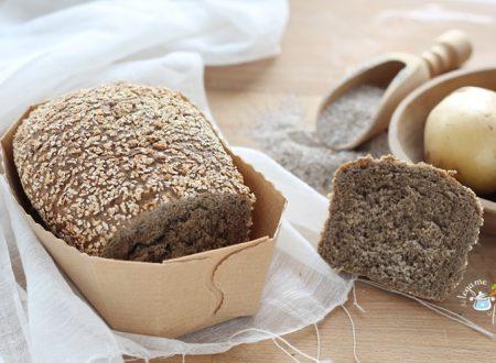 Pane al grano saraceno con patate