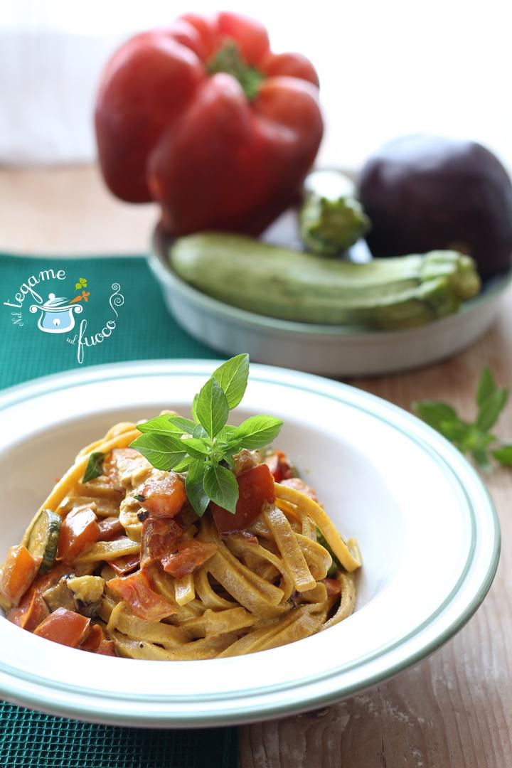 pasta+ratatouille+verdure
