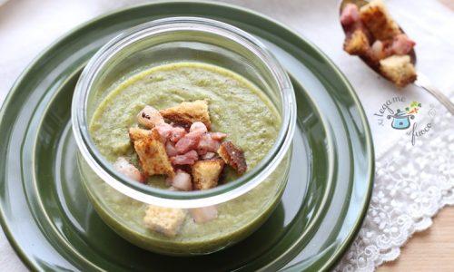 Vellutata di broccoli in vasocottura