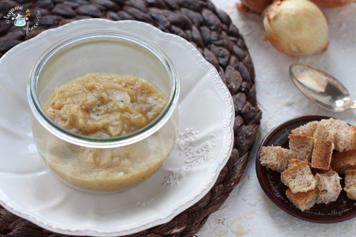 Zuppa di cipolle in vasetto