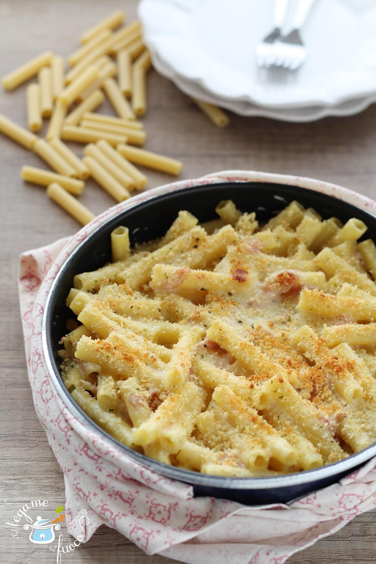 Pasta al forno al microonde ricetta senza forno e - Forno con microonde ...