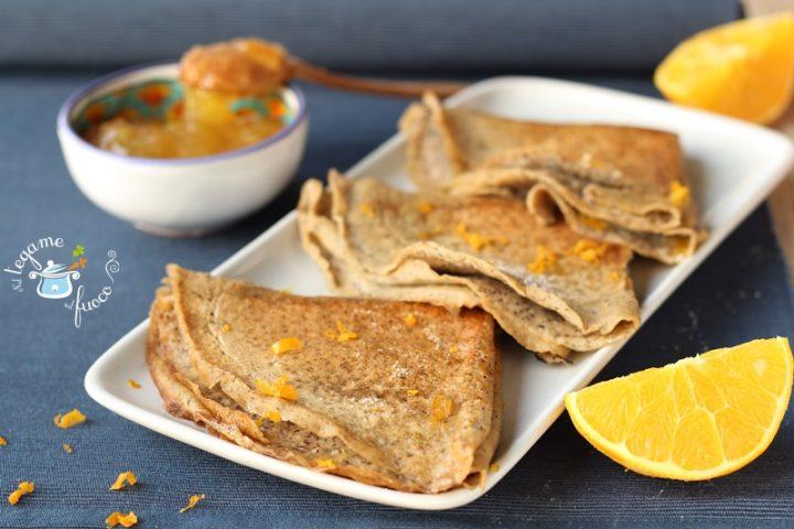 Crepe suzette al grano saraceno
