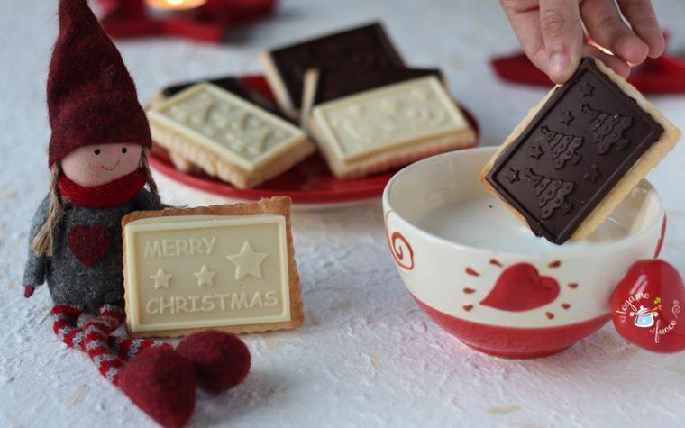 Biscotti al burro e cioccolato