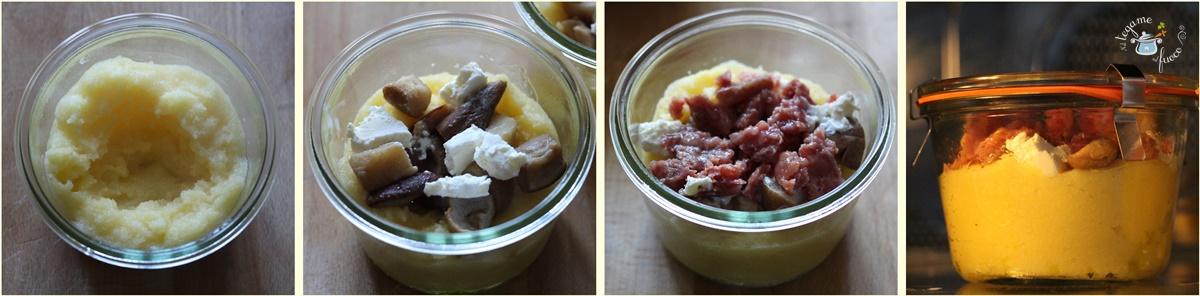 cuocere+cotechino+in+vasetto+polenta+funghi