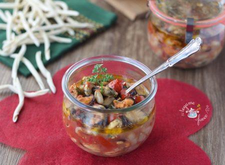 Cozze e fagioli in vasocottura alla calabrese