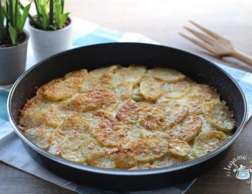 Parmigiana di patate al microonde