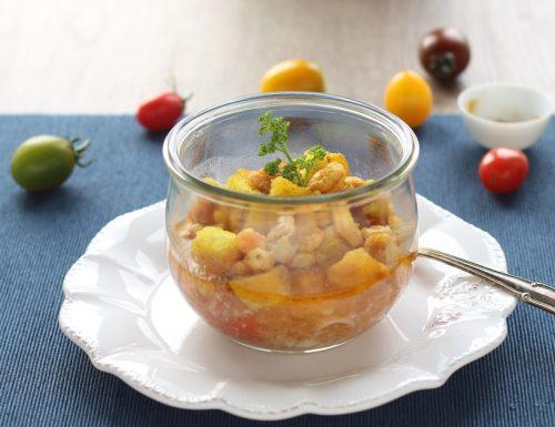 Zuppa di calamari in vasocottura