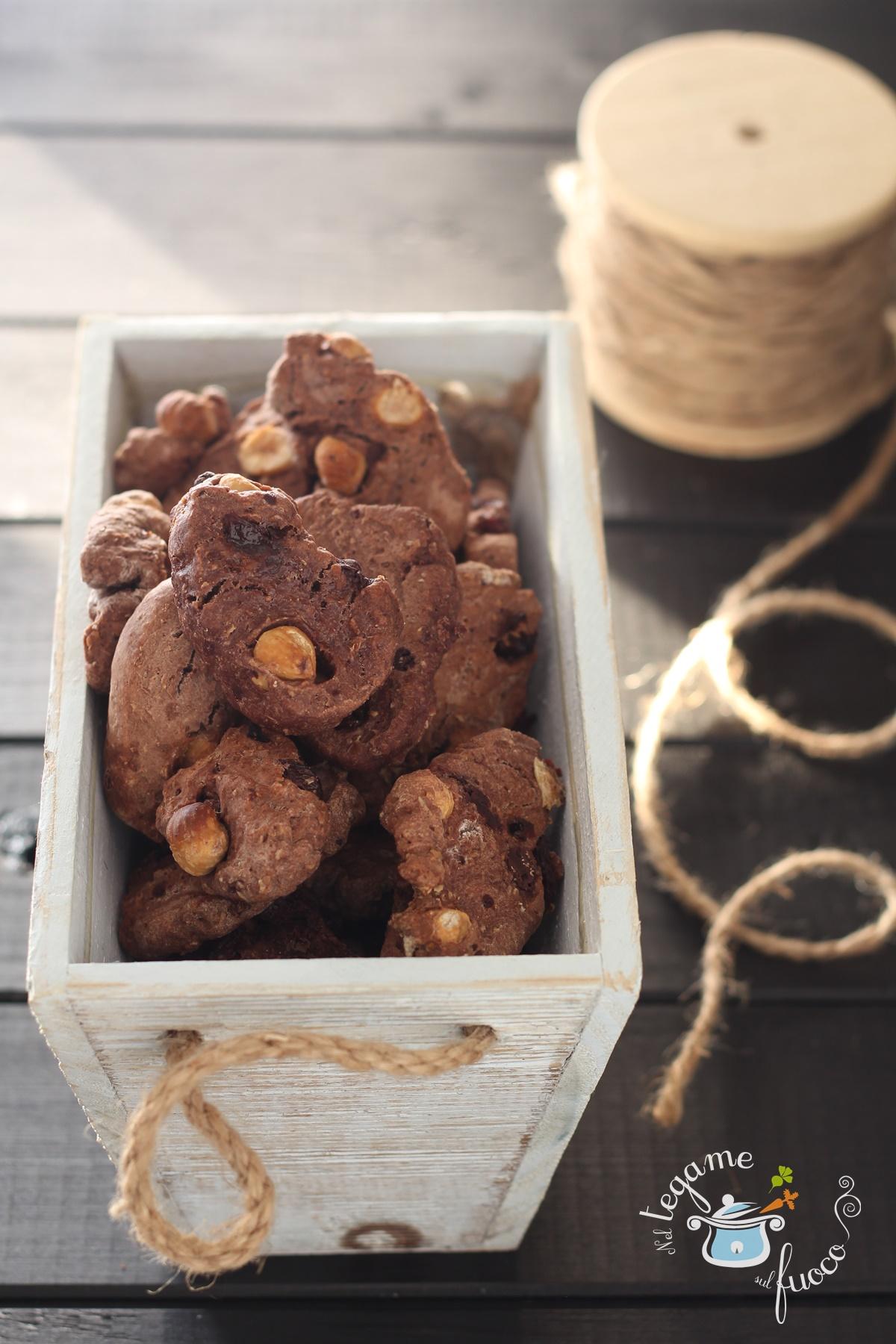 Biscotti al Vino Rosso e Cioccolato – Tozzetti Viterbesi
