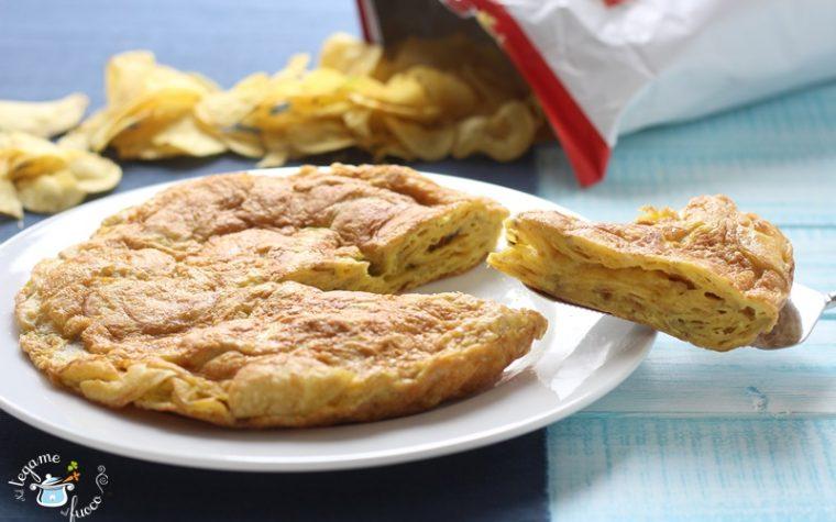 Frittata di patatine chips