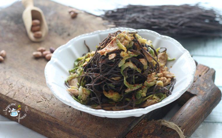Pasta di fagioli ricetta con verdure e tonno