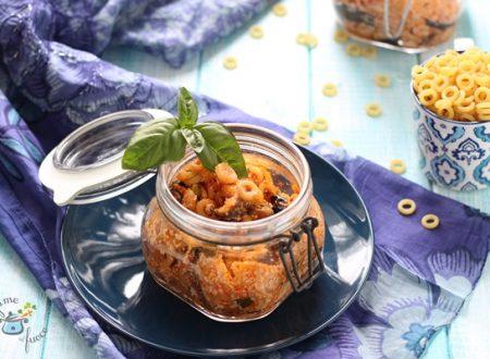 Aneletti in vasocottura alla siciliana