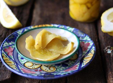 Come conservare le bucce di limone
