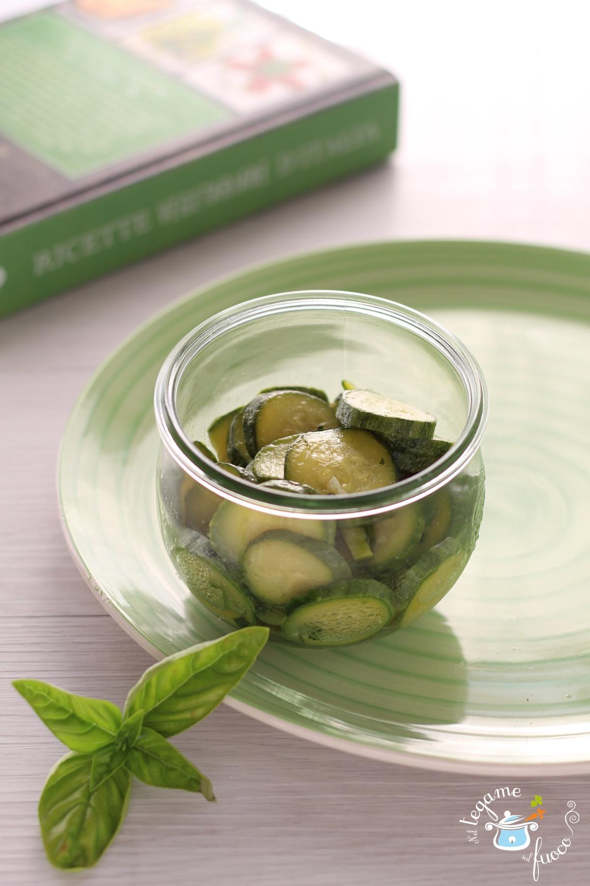 zucchine trifolate in vasocottura