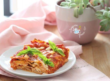Lasagne con pomodoro e ricotta