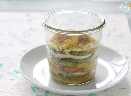 Pollo e zucchine in vasocottura con patate