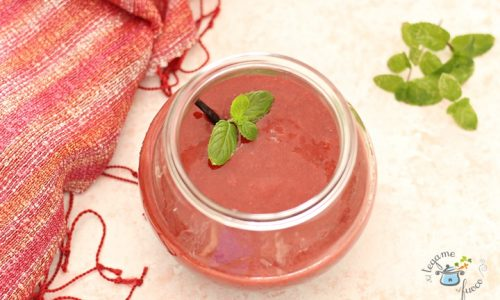 Salsa di fragole in vasocottura