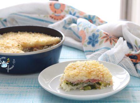 Timballo di riso al microonde