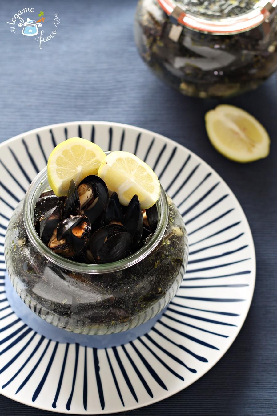 ricetta per cuocere impepata di cozze in vasetto al microonde
