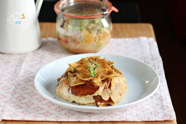 ricetta tortino con pane sardo in vasocottura al microonde
