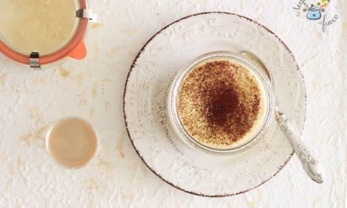 Crema in vasocottura al Baileys
