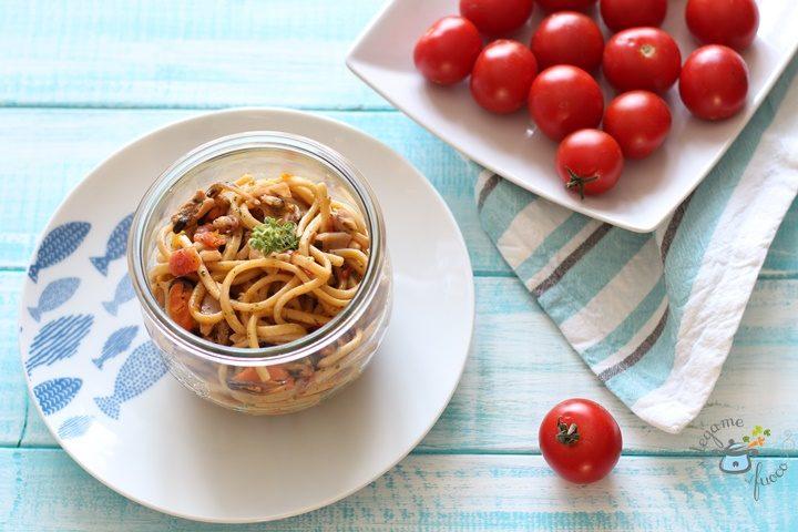 ricetta pasta ai frutti di mare in vasocottura