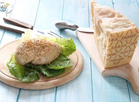 Pollo in crosta di Grana Padano DOP