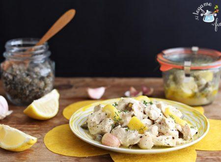 Pollo al limone in vasocottura