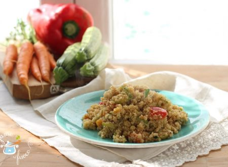 Quinoa in vasocottura con verdure