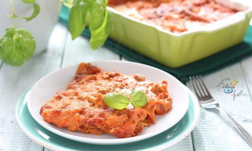 Lasagne alla bolognese al microonde